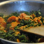 Federkohl-Rüebli-Gemüse